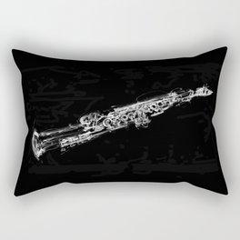 Soprano Sasophone Rectangular Pillow