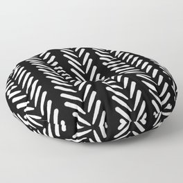 Mud Cloth Arrow Glam #2 #pattern #decor #art #society6 Floor Pillow