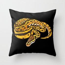 Ball Python Throw Pillow