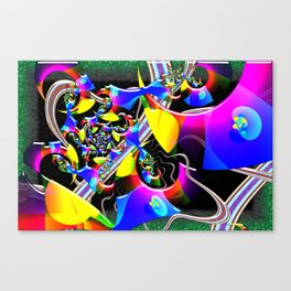 Optical Universe 3D Psychedelic Canvas Print