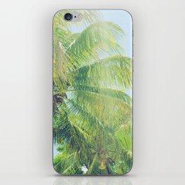 sunny palms iPhone Skin