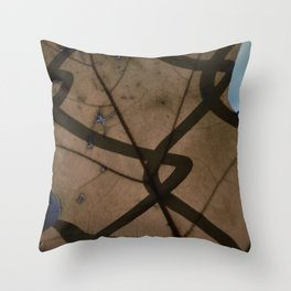 Waking up to Autumn Throw Pillow