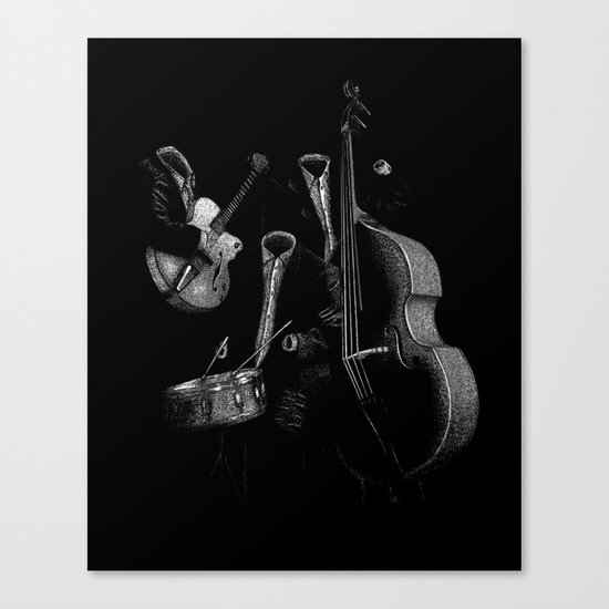 The Invisibles Canvas Print