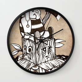 Lumberjack Wall Clock