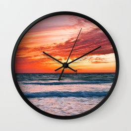 Clearwater Beach, Florida Wall Clock
