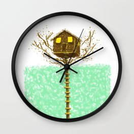 MOONRISE KINGDOM Painting Poster | PRINTS | #M45 Wall Clock