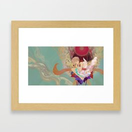+O+ Framed Art Print