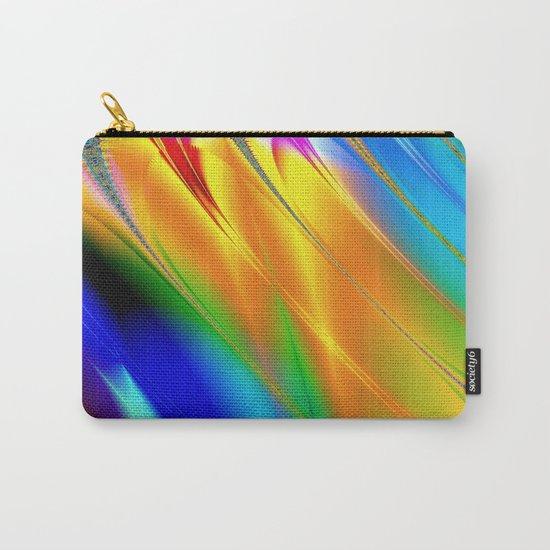 Digital art fractal colors Carry-All Pouch