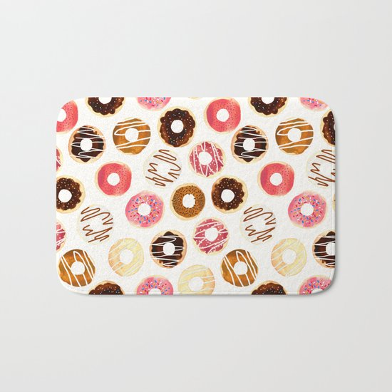 Donuts For Days Bath Mat