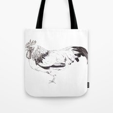 Sussex Bantam Chicken Tote Bag