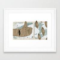 okay Framed Art Prints featuring Okay! by Alex Reynolds