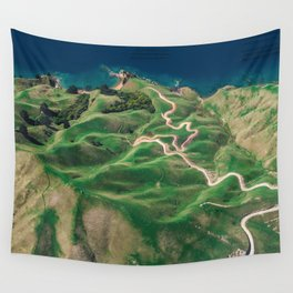green mountain 4 Wall Tapestry