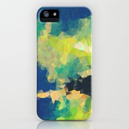 Cave Low Poly 1 iPhone Case