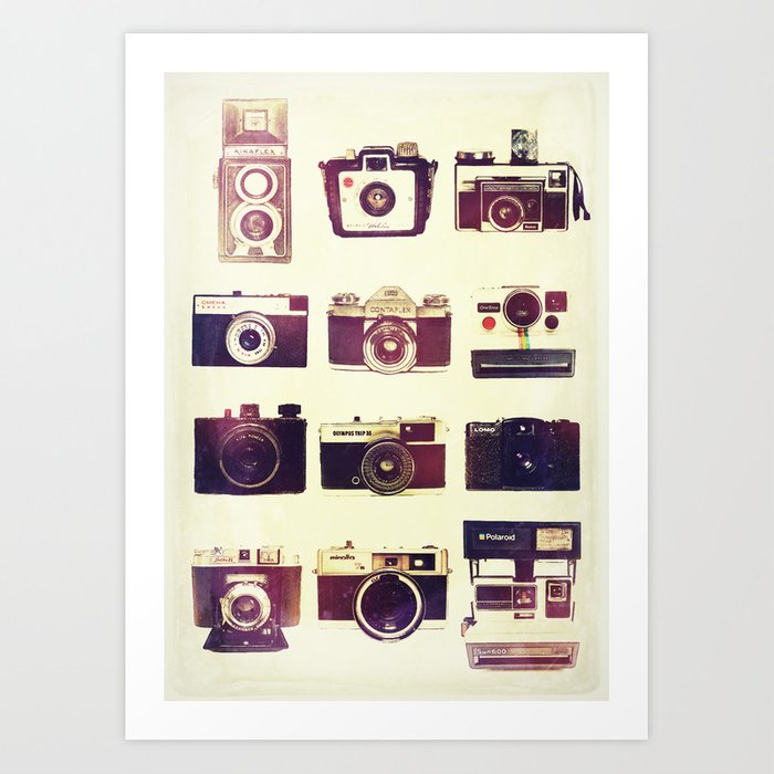Analog Love Art Print