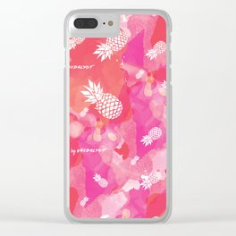 Pineappless Clear iPhone Case