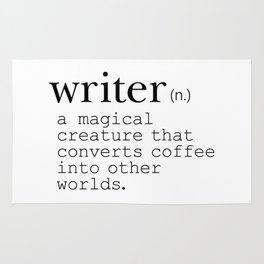 Writer Definition - Converting Coffee Rug