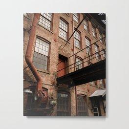Brick, North Adams 01 Metal Print