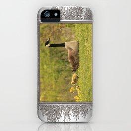 Canada Goose Family iPhone Case