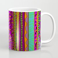 tribal Mugs featuring Tribal by Aimee St Hill