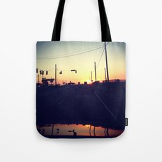 And We're Off Tote Bag