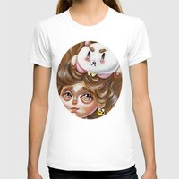 puppycat T-shirts featuring A Bee and her PuppyCat by Kristin Frenzel