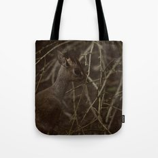 Caught in a strange World Tote Bag