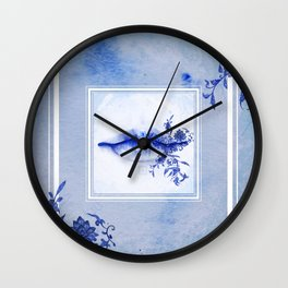 Porcelain Lolita Wall Clock