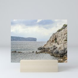 Seacoast near Alghero and Capo Caccia Mini Art Print