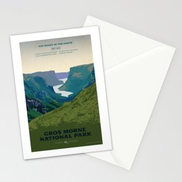Gros Morne Stationery Cards