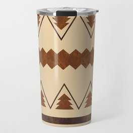 Forest and lines Travel Mug