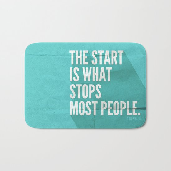 The Start Bath Mat