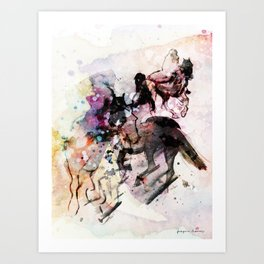 Horses (Canter) Art Print