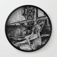 Fingerprint - Dance Wall Clock