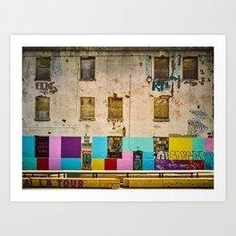 La Tour d'Aiguillage Art Print
