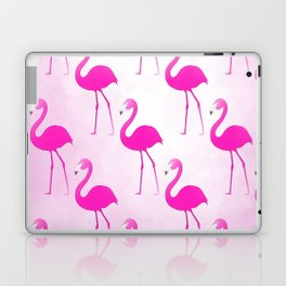 Seamless Flamingo Laptop & iPad Skin