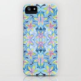 Floral Kaleidoscope iPhone Case
