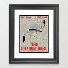 The Adjustment Bureau Framed Art Print