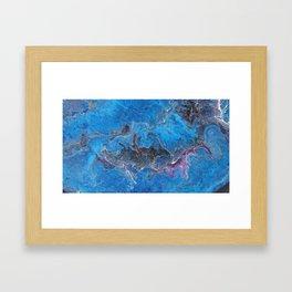 Flowing Tendril Framed Art Print