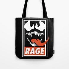Rage. Tote Bag