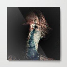 emotion piece. winter, part III. Metal Print