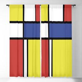 Mondrian 4 #art #mondrian #artprint Blackout Curtain
