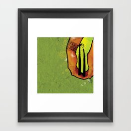 For you - green Framed Art Print