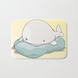 Sleepy Whale Bath Mat