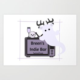 Breen's Indie Bar Art Print