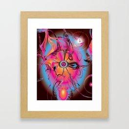 icflower Framed Art Print