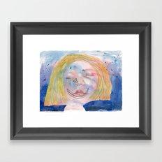 I feel tired Framed Art Print