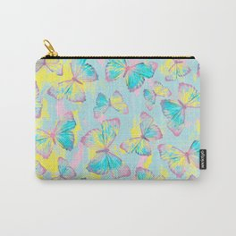 BUTTERFLIES YELLOW Carry-All Pouch