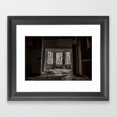 On the Inside Looking Out Framed Art Print