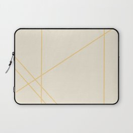 Geometric Orange Creamsicle Laptop Sleeve