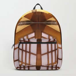 Pattern of Elevator interior Backpack